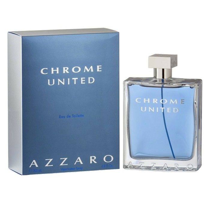 Chrome United Cologne by Azzaro 6.8oz Eau De Toilette Spray for men